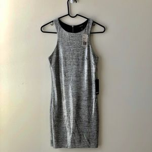 Forever 21 Silver Short Dress (NWT)